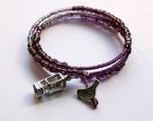 Little Bird House wire wrap bracelet