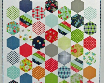 Juggle Quilt Pattern - Camille Roskelley - Thimble Blossoms - TB #157
