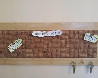 Handmade Champagne Cork Bulletin Board