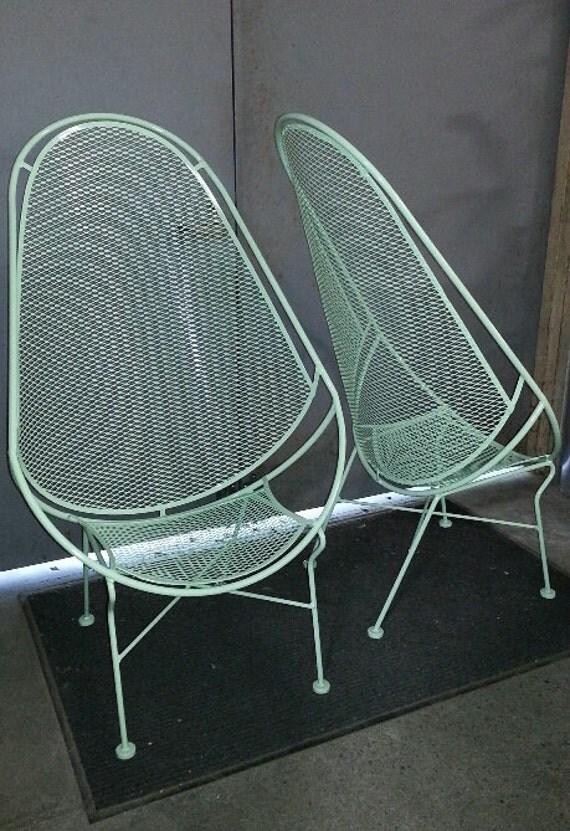 Salterini Salterini High Back Chairs 2 Pc Set Salterini High