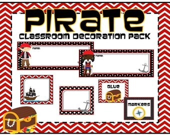 Pirate Classroom Decoration Pack