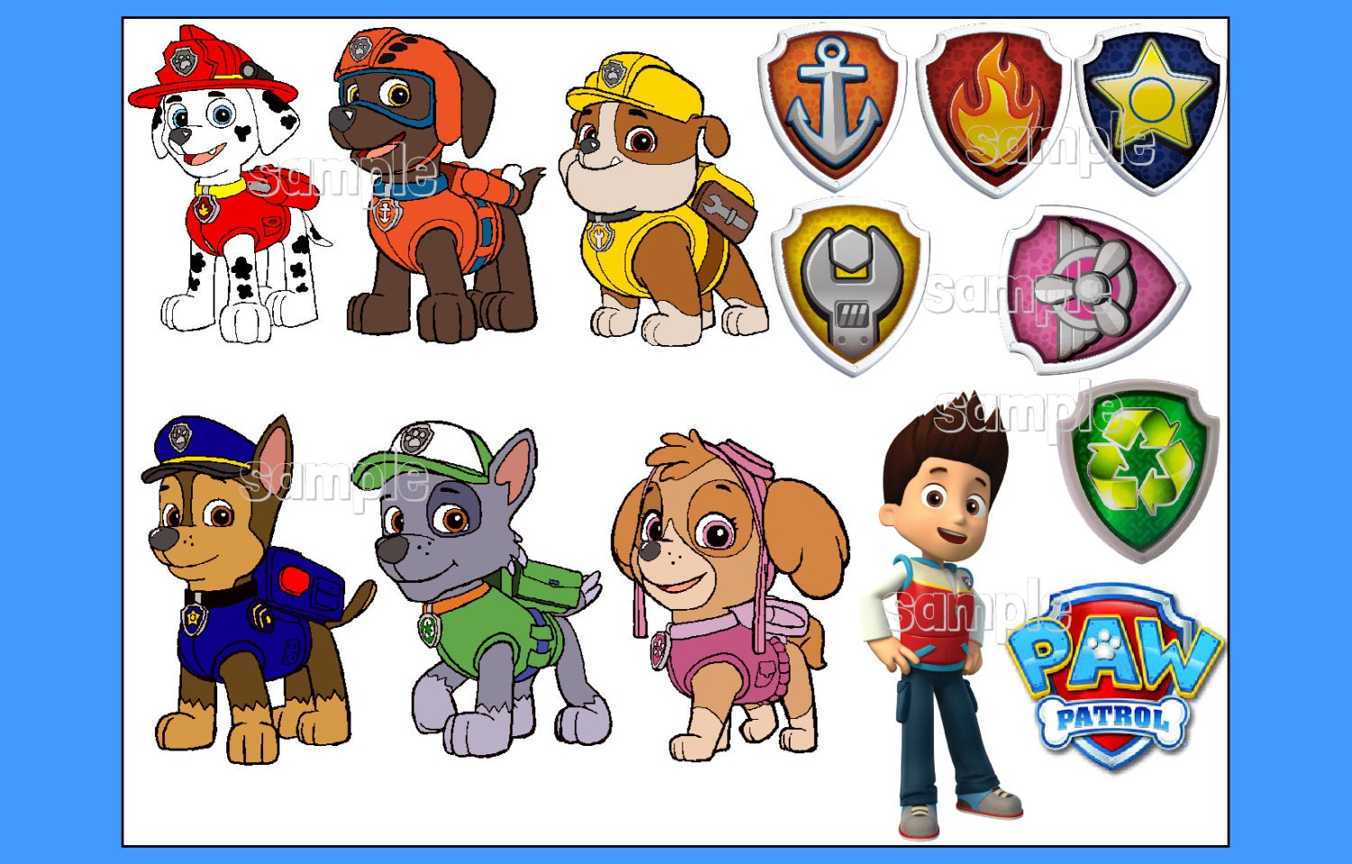 Gallery For gt Paw Patrol Characters Names