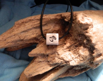 OM Cube Necklace