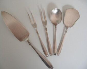 Martin pie lifter,cutlery, cream spoon, silverware,pie lifter,german silverware,Vintage silver,pastry forks,silverware set