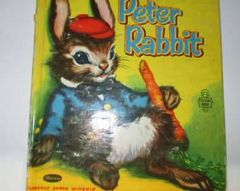 Peter Rabbit 1955 by Whitman