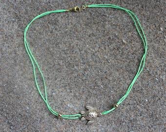 Sea Turtle Cord Necklace