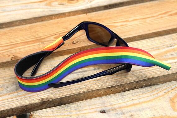 Rainbow Pride Sunglass Strap Eyewear Holder / by ...