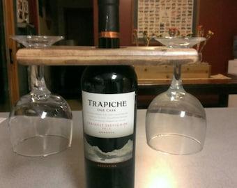 Wood Wine Caddy