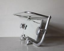 Industrial Mid Century Coat Hook Hat Rack Bistro Rack Train Rack with Parcel Shelf with Mirror