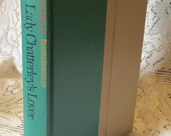 Vintage Lady Chatterley's Lover third edition DH Lawrence