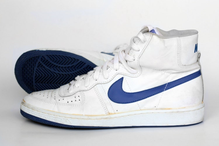Vintage 1984 Nike Legend Hi High Sneakers Mens By Htvshop
