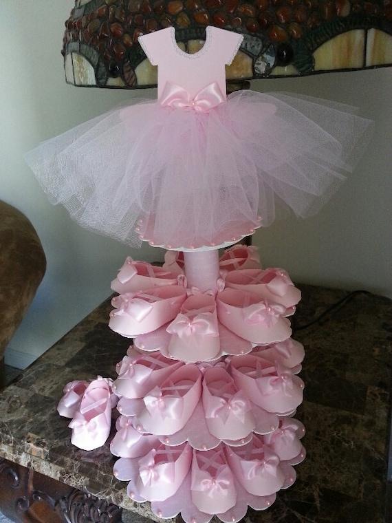 favors ballerina baby shower baby shower centerpiece baby shower