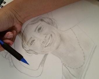Custom Portraits in graphite (pencil)