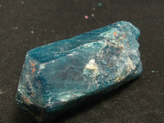 Large Neon Blue Apatite Crystal From Brazil 1.6