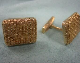 Cufflinks 18 Karat Gold Handmade