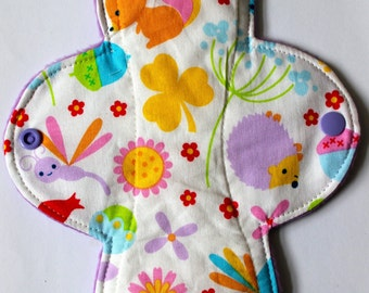 Semi custom! Eco bamboo cloth sanitary pads - washable and leakproof - made with bamboo and cotton - CSP