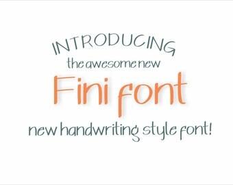 Fini Font