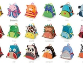 Choose your own animal! Feeding Tube Backpack