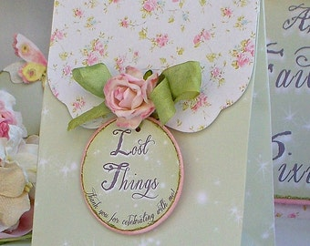 Princess Favor Bags: Shabby Chic Birthday Party