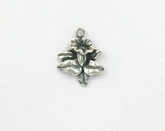 Sterling Silver Calla Lily Charm - gar68