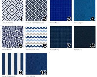 Marine Navy Outdoor Cushion Covers