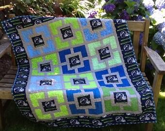 Seattle Seahawks quilt