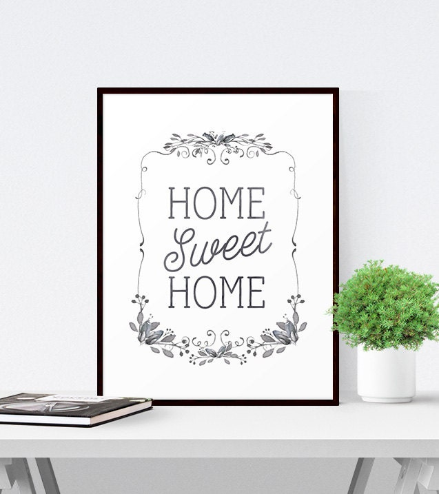 It is a photo of Remarkable Home Sweet Home Printable