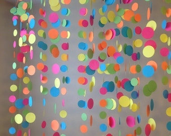 Neon Garland Backdrop