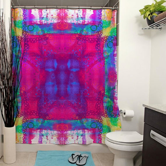 carnival shower curtain pictures