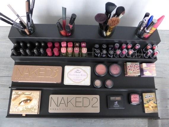 maquillage de comptoir rangement organisateur affichage. Black Bedroom Furniture Sets. Home Design Ideas