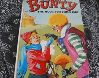 Bunty Book For Girls 1987