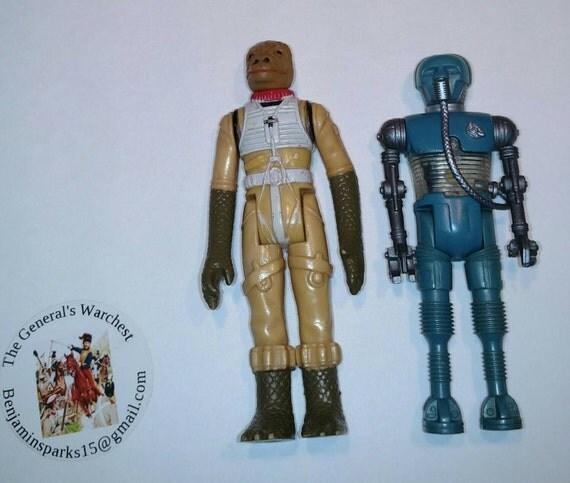Star Wars Toys 1980s : Star wars original toys medical droid bossk bounty