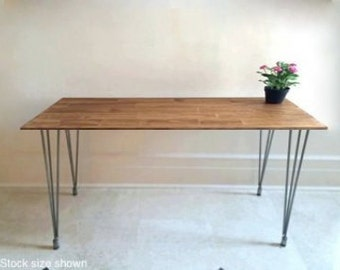 72x24 Long Desk Or Narrow Dining Table Long By Goldenrulenyc