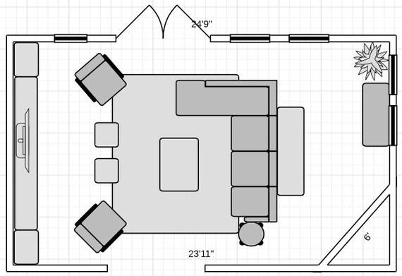 Interior Floor Plan Furniture Placement Interior Space