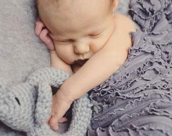 Crochet Elephant Rattle