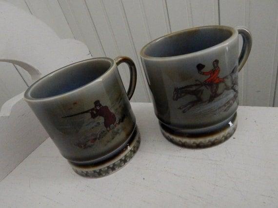 Irish Porcelain Coffee Mugs