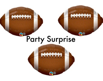 Football balloons, Football Party Decorations, Football Game, Sports Party Balloons, Superbowl Balloons, Kids Party Balloons