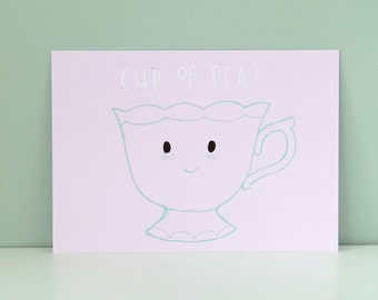 Postcard *-* Cup of Tea?