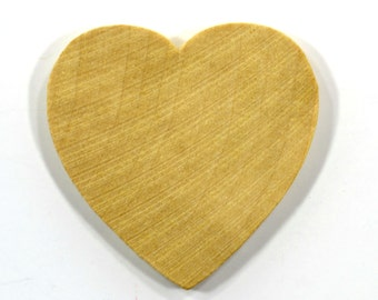 "400 or 500-Wooden Hearts-1-1/2""-Unfinished Hardwood - Wedding Table Decorations - Name Tag Hearts - Natural / Organic- Bulk Supplies"