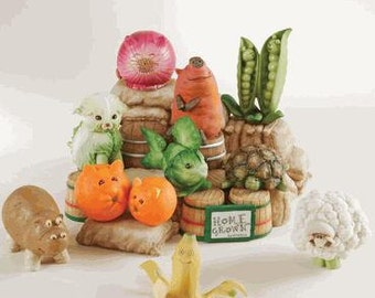 Cute Fruit & Veggie Animal Collection