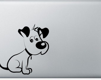 "6"" Doggie Vinyl Decal"