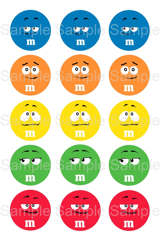 Set of 15 1 precut bottle cap circle images m candy for Depot outlet bochum