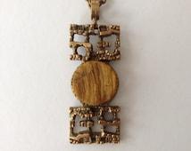 Modernist Vintage Necklace/Pendant Pentti Sarpaneva