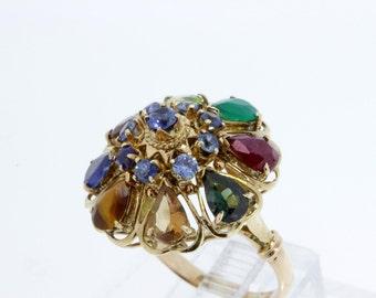 Thai Princess Ring 14K Gold