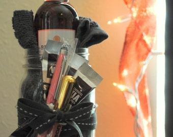 Mason Jar Prezzies (Gray/Pink; Pre-made)