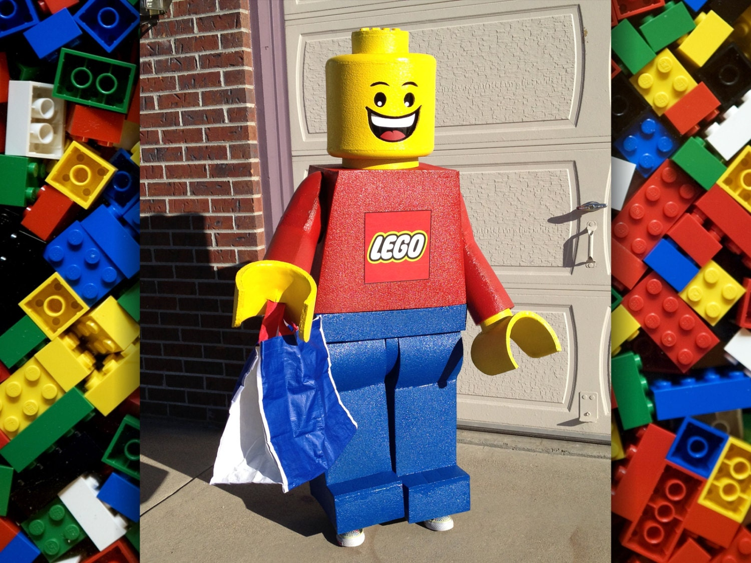 Lego Minifigure Costume Made To Order Life Size Freestanding