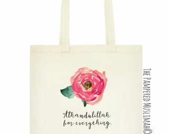 Small Tote Bag ~ Alhamdulillah for everything