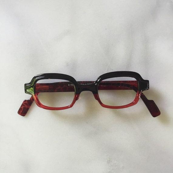 Red & Black Square Reading Glasses Optical Frames by ... | 570 x 570 jpeg 30kB