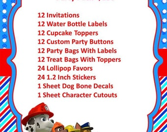 Puppies Party Package