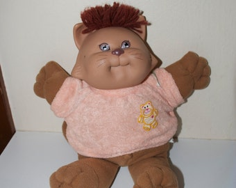 Cabbage Patch Kid Koosa Koosas Brown Vintage 1983